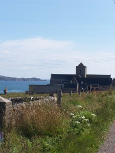 The abbey on Iona